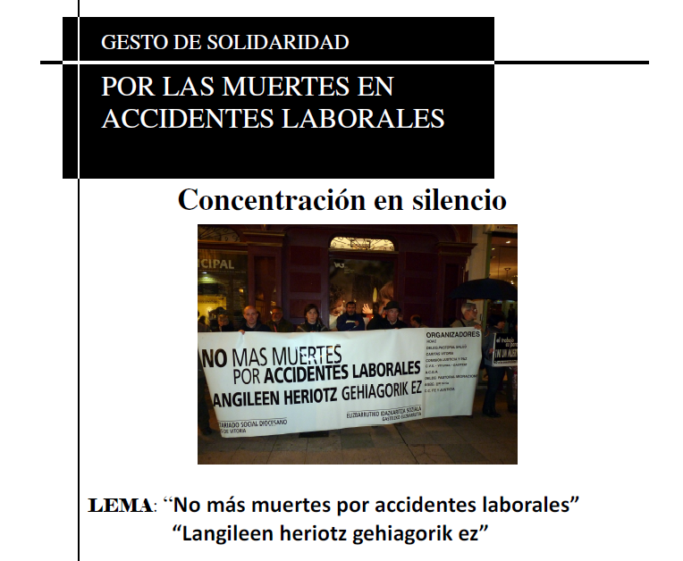 CARTEL ACCIDENTE LABORAL